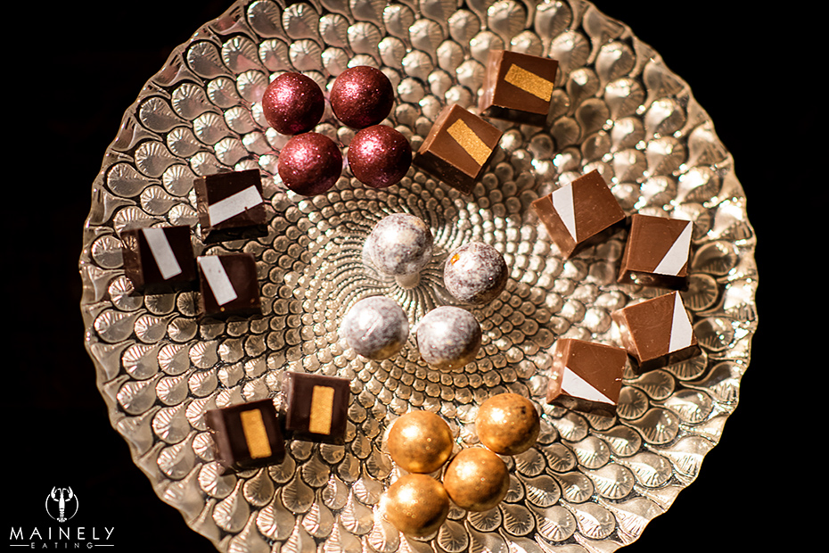 chocolates - mainely eating
